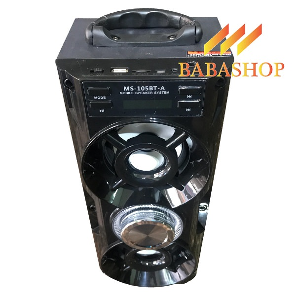 Loa Bluetooth Karaoke MS-105BT-A