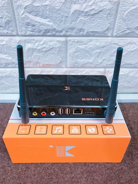 Smart Android TV Box Kones Box K6 Pro - Ram 1GB, Ram 8GB, Karaoke Offline