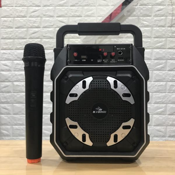 Loa Bluetooth Karaoke Kiomic K-98 - Tích Hợp Micro Không Dây