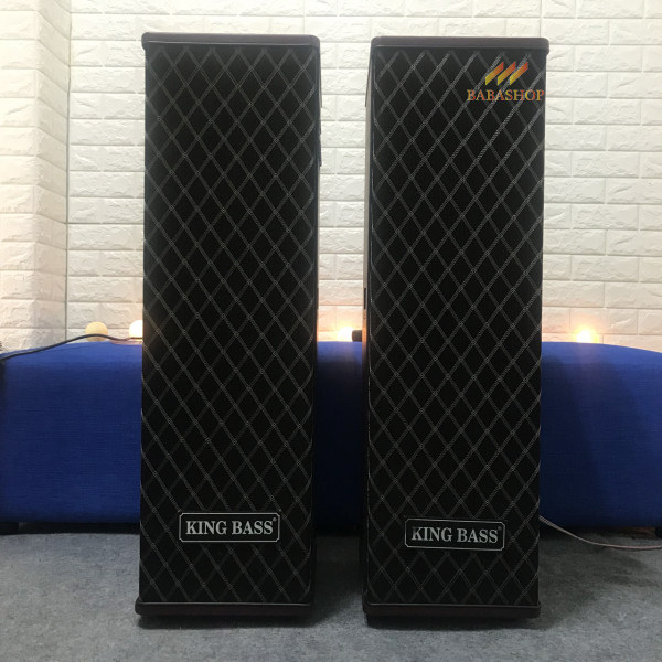 Loa điện karaoke Kingbass LD150 - Nhân Đôi Loa Bass