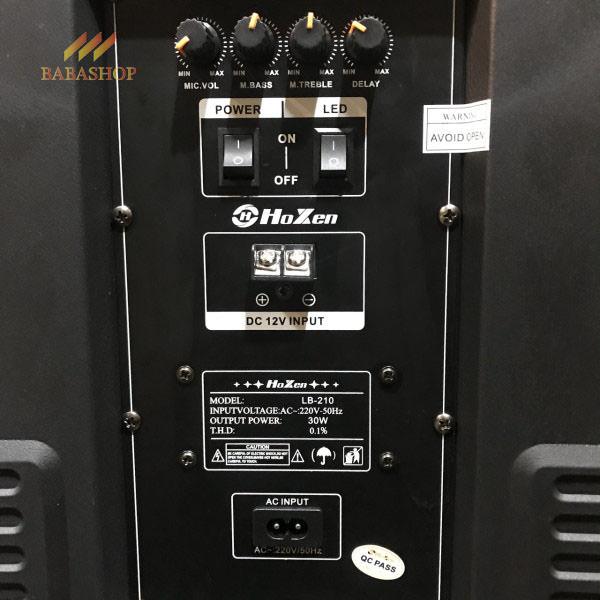 Loa Kéo Mini Hoxen LB-210