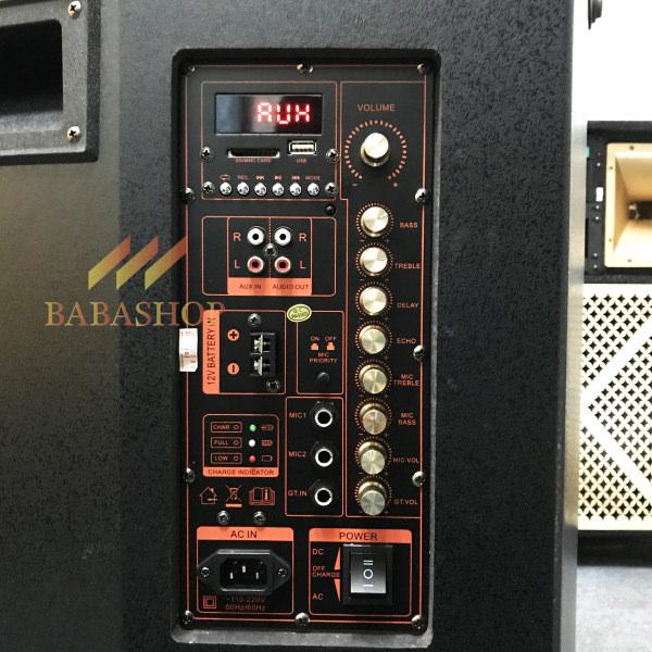Loa Kéo Di Động Kingbass KB-509 - Cấu Hình Âm Thanh Mạnh Mẽ
