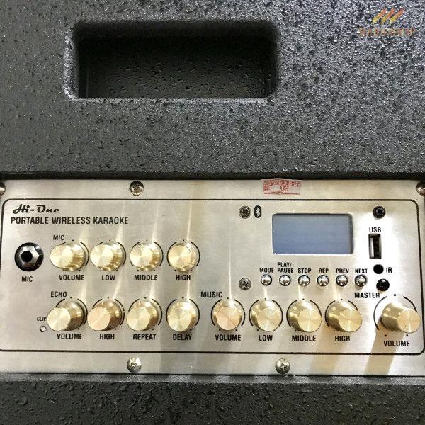 Loa Amply Điện Kingbass LD-612 - Chuẩn Karaoke