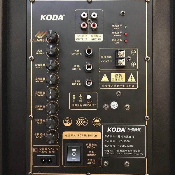 Loa kéo di động Koda KD-1550