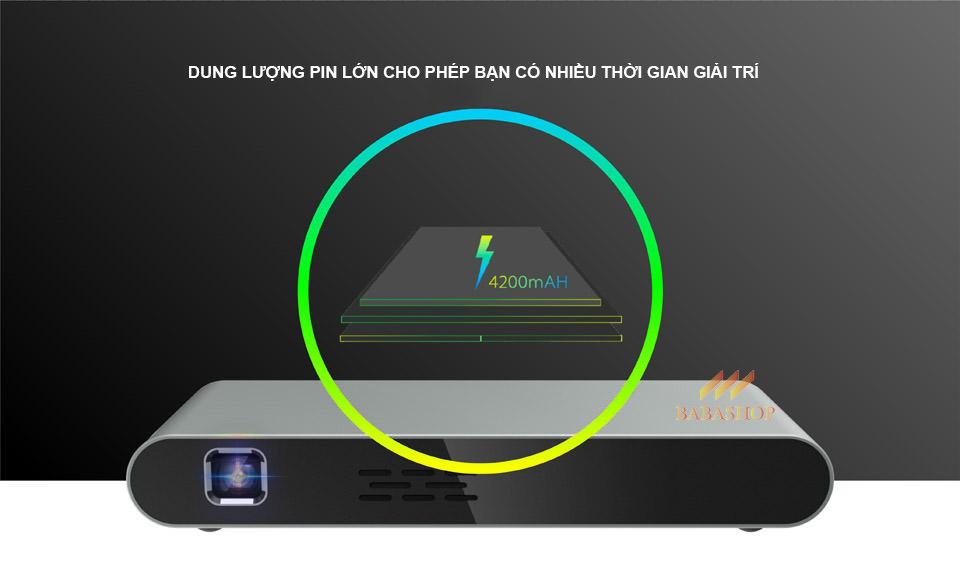 Máy Chiếu Di Động Smart Projector F5 - Xem Phim Thả Ga