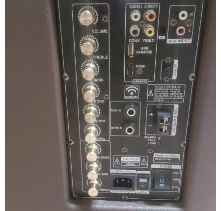 loa vali kéo karaoke KingBass KTV 407