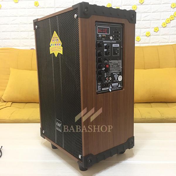 Loa Kéo Di Động CXF GL-1208 - Bass 3 Tấc Mạnh Mẽ