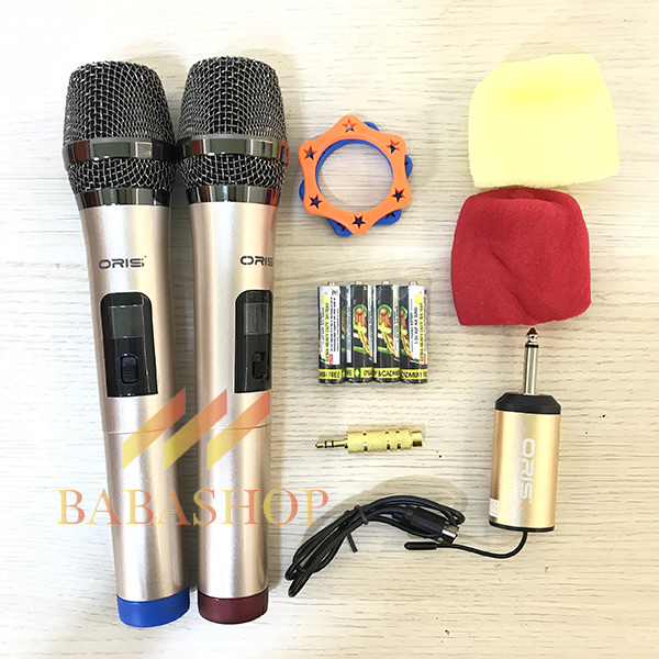 Micro Karaoke Không Dây Oris F3.2